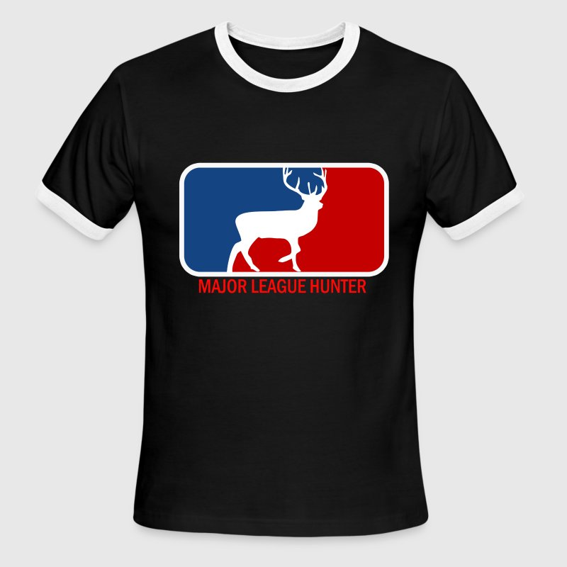 Major league deer hunter big buck - Men's Ringer T-Shirt