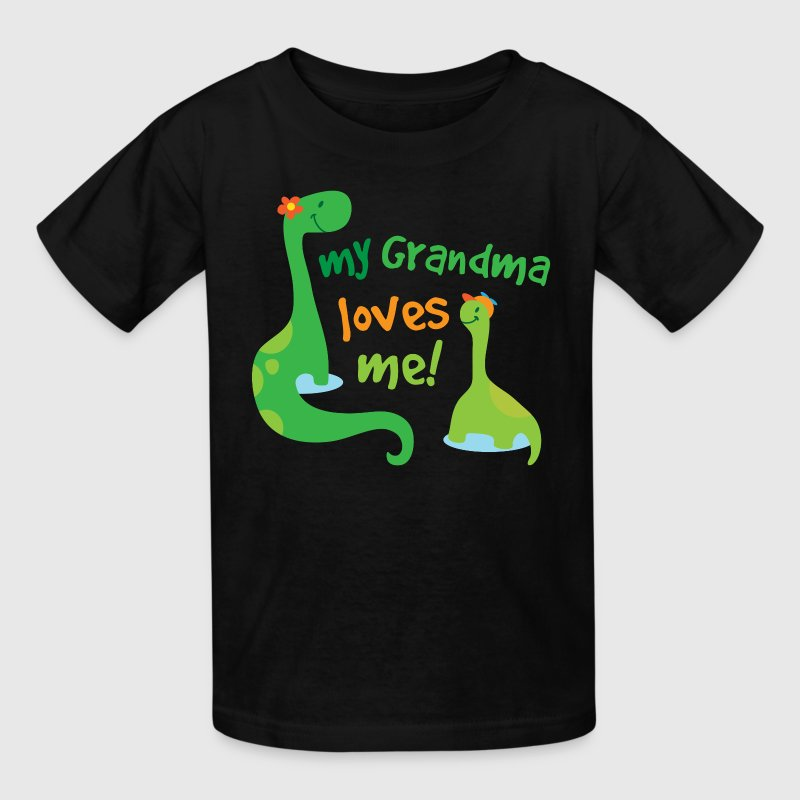My Grandma Loves Me Dinosaur Kids' Shirts - Kids' T-Shirt
