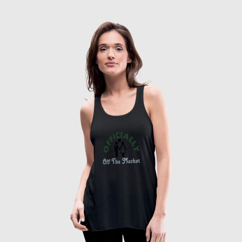 Married Officially Off The Market Tanks - Women's Flowy Tank Top by Bella