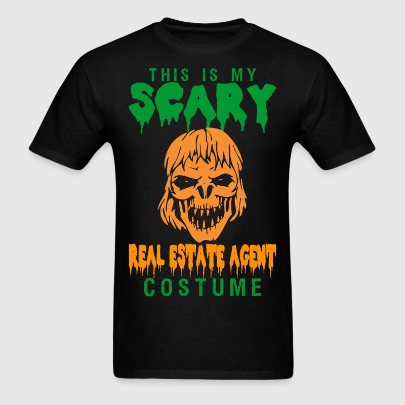 This Is My Scary Real Estate Agent Costume - Men's T-Shirt