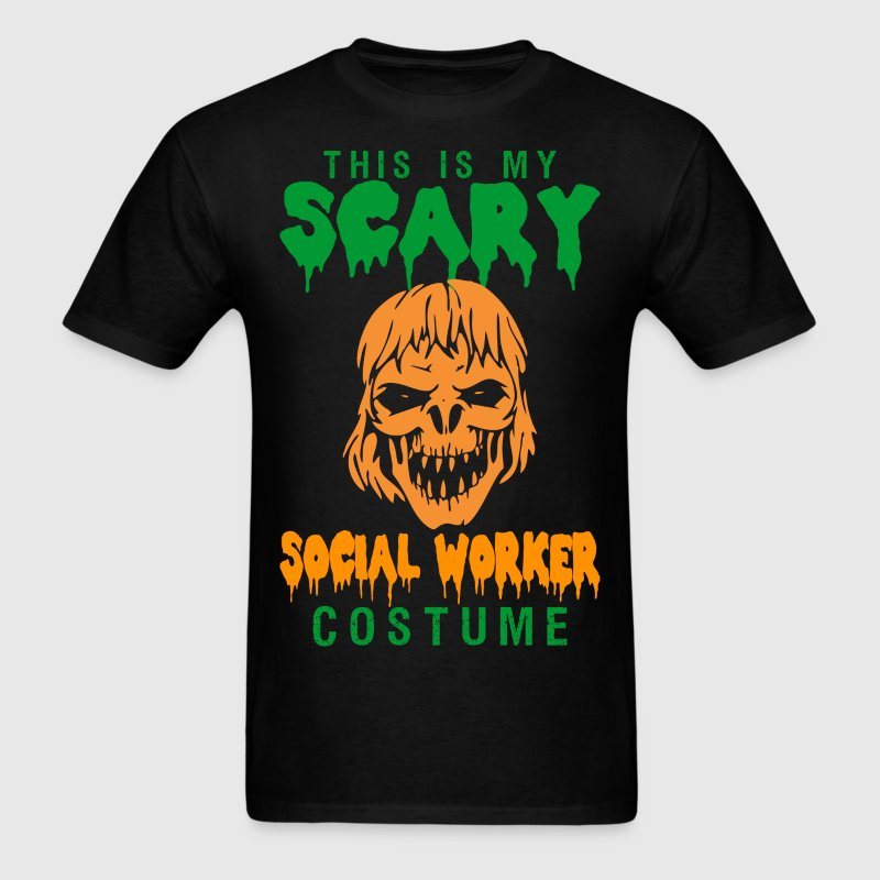 This Is My Scary Social Worker Costume - Men's T-Shirt