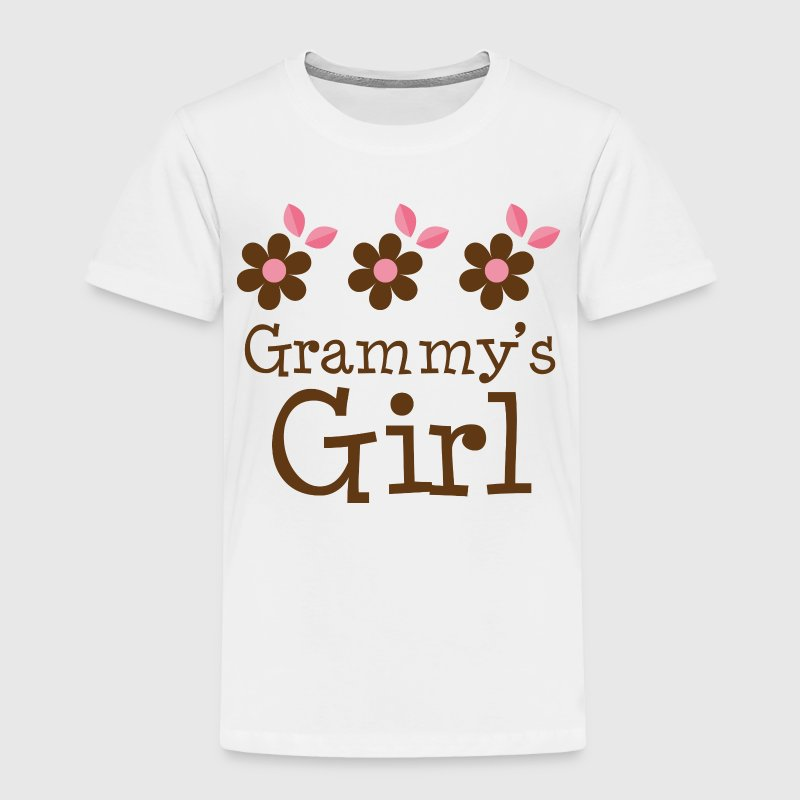 Grammy's Girl grandchild Baby & Toddler Shirts - Toddler Premium T-Shirt