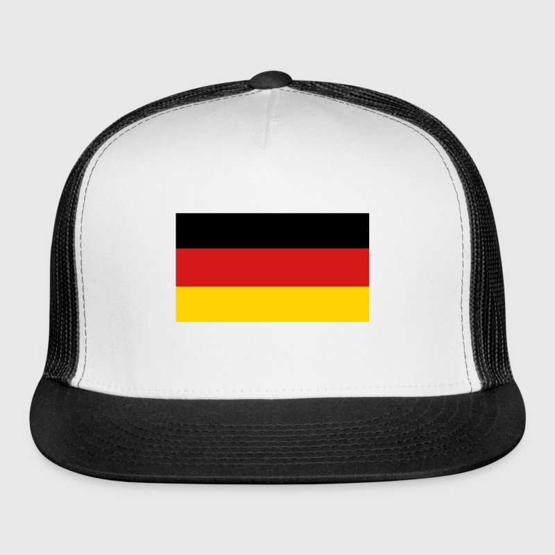 3 Color Flag Caps - Trucker Cap