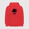 Cool Moustache (Hat) Oktoberfest Smiley - Outfit Sweatshirts - Kids' Hoodie