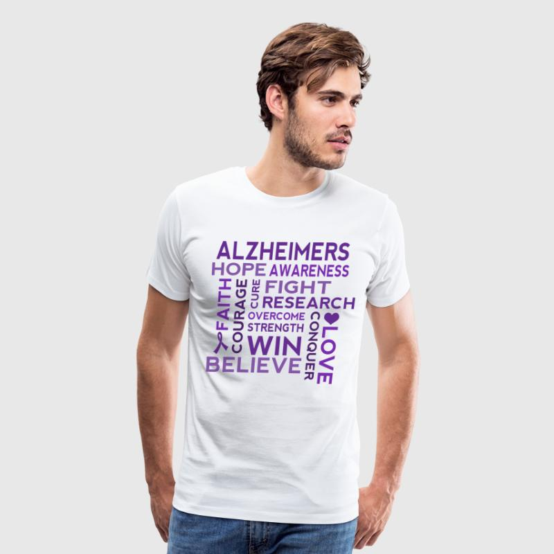 Alzheimers Awareness Walk T-Shirts - Men's Premium T-Shirt