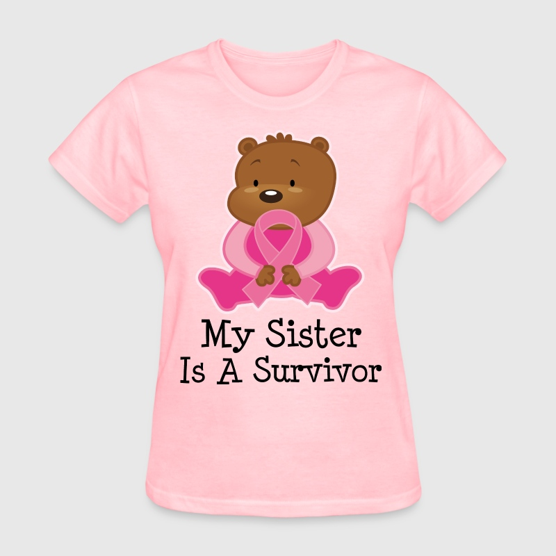 Breast Cancer Sister survivor Women's T-Shirts - Women's T-Shirt