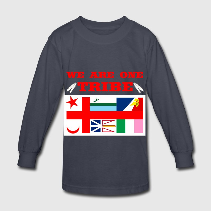 WE ARE ONE TRIBE - Kids' Long Sleeve T-Shirt
