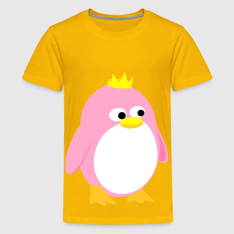Princess Penguin - Kids' Premium T-Shirt