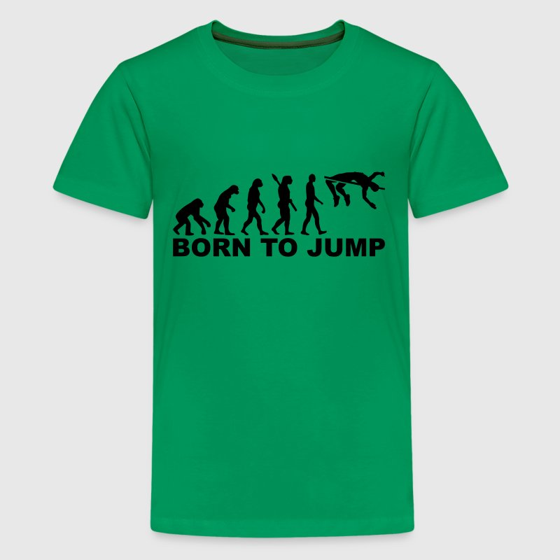 Evolution High jump Kids' Shirts - Kids' Premium T-Shirt