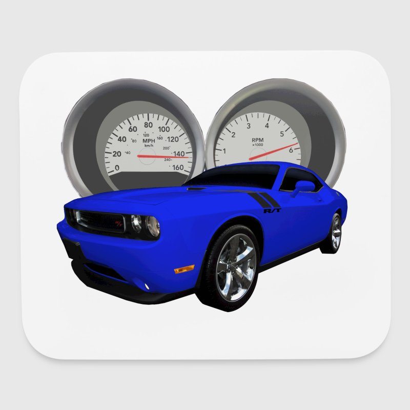 Challenger Blue Speed - Mouse pad Horizontal