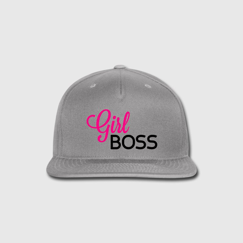 Girl Boss Caps - Snap-back Baseball Cap