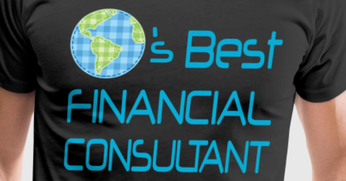 Financial consultant worlds best t shirt spreadshirt for Best design consultancies in the world