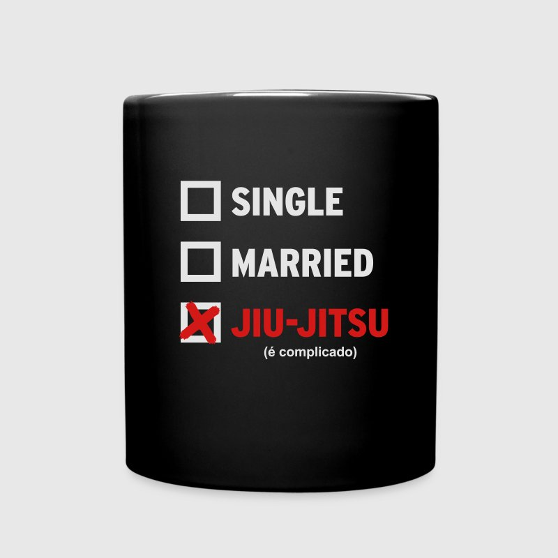 Single Married or Jiu Jitsu Coffee Mug - Full Color Mug
