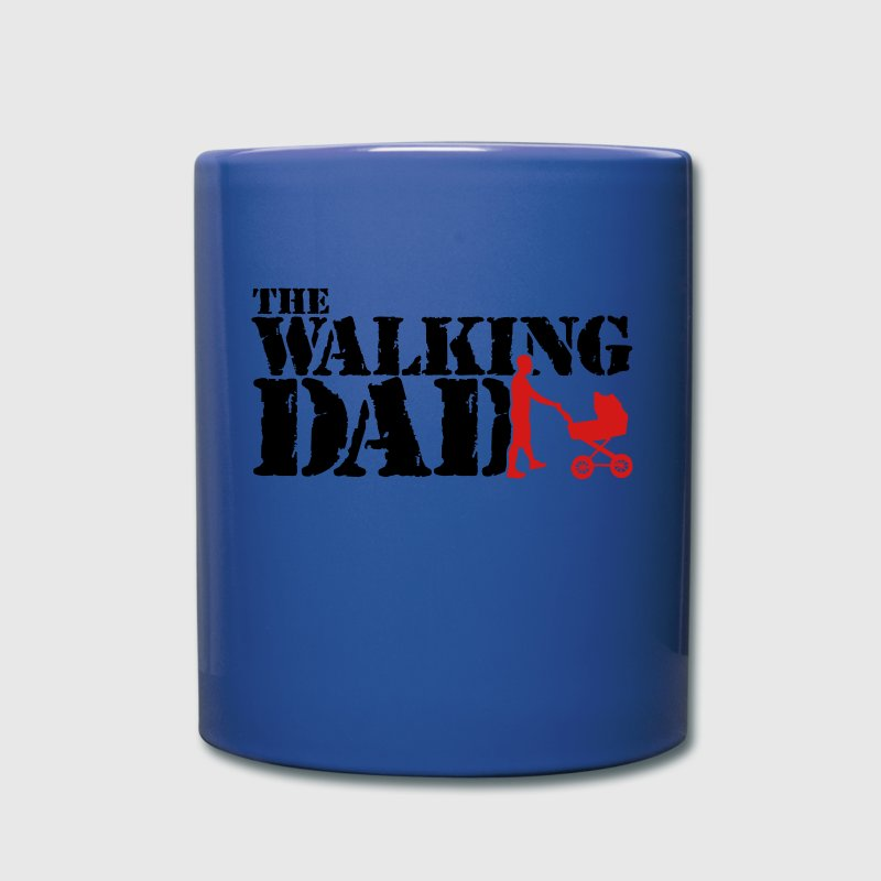 the walking dad Mugs & Drinkware - Full Color Mug