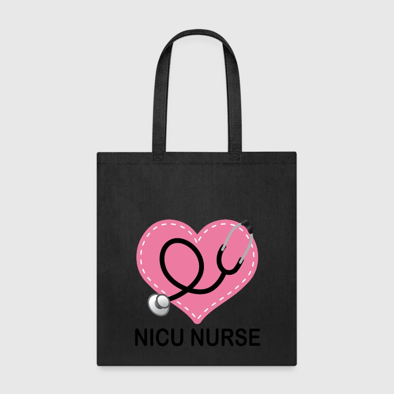 NICU Nurse Stethoscope Bags & backpacks - Tote Bag