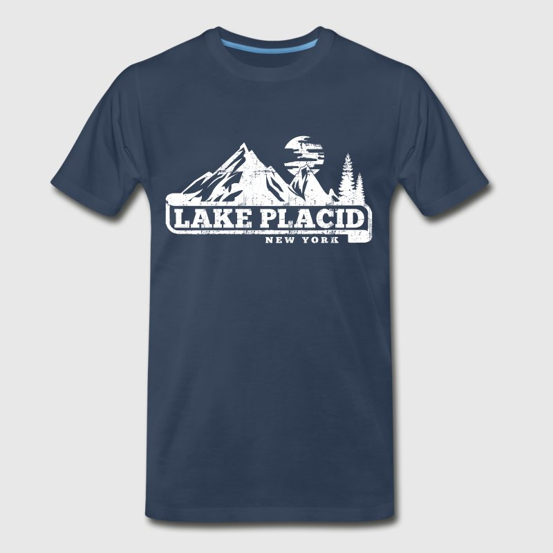 Lake Placid T-Shirts - Men's Premium T-Shirt