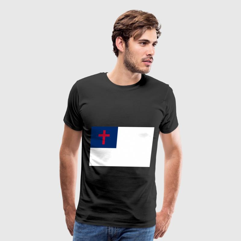 Christian Flag T-Shirts - Men's Premium T-Shirt
