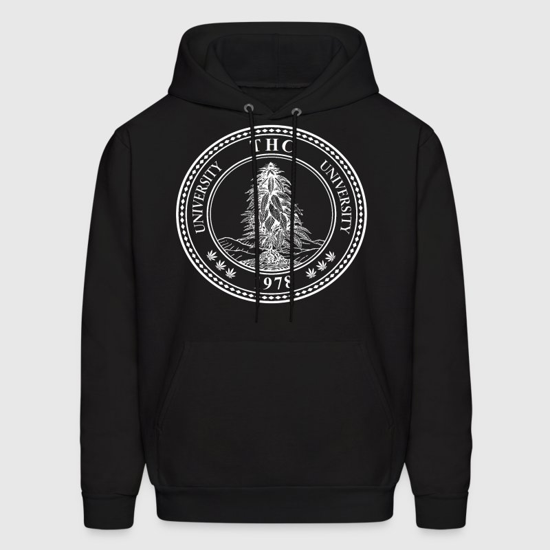 THC UNIVERSITY Hoodies - Men's Hoodie