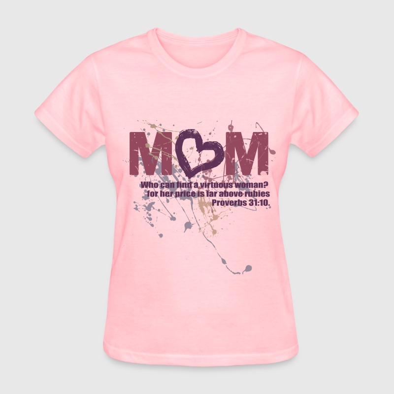 Proverbs 31 Mom Christian Women's T-Shirts - Women's T-Shirt