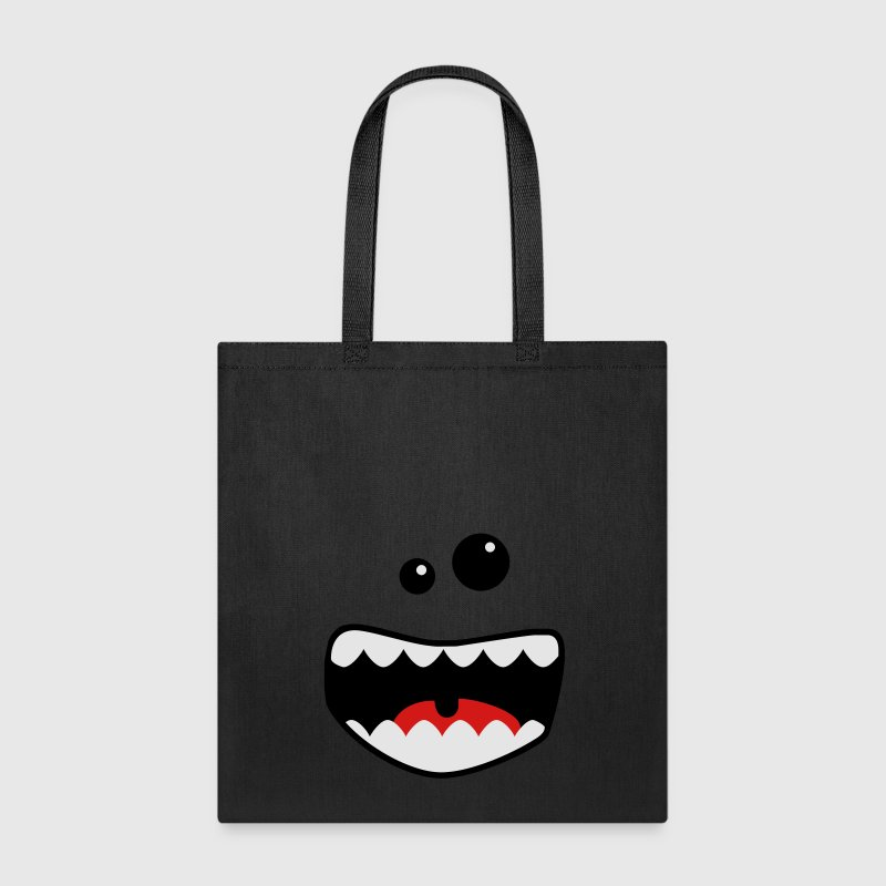 monster mouth Bags & backpacks - Tote Bag