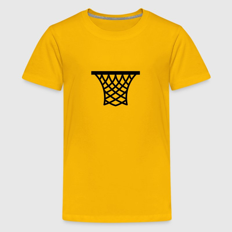 Basketball Net - Kids' Premium T-Shirt