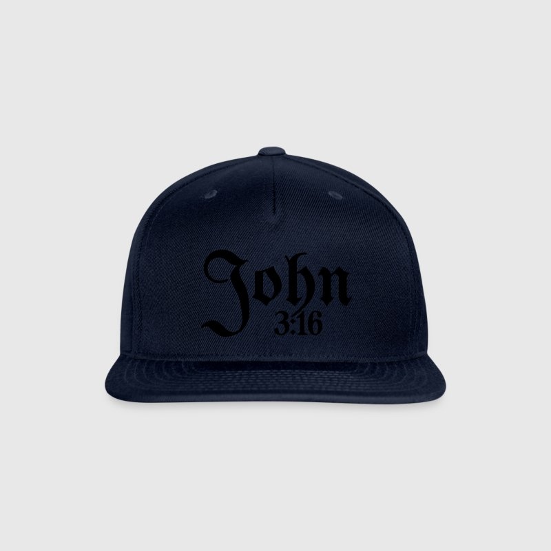 John 3:16 Snap-back Baseball Cap - Snap-back Baseball Cap