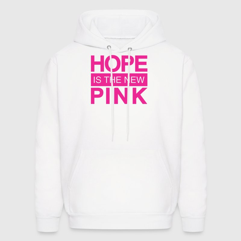hope is the new pink Hoodies - Men's Hoodie