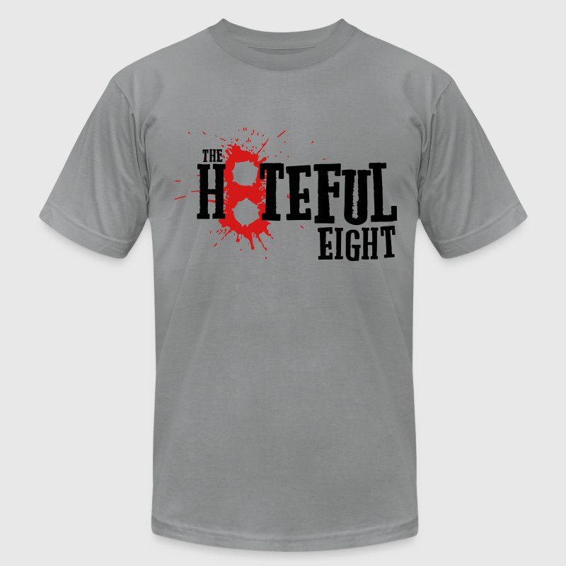 the Hateful Eight 8 Blood | Tarantino's Movie T-Shirts - Men's Fine Jersey T-Shirt