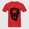 12 Monkeys Scream Stencil Tv Series 2015 T-Shirts - Men's T-Shirt