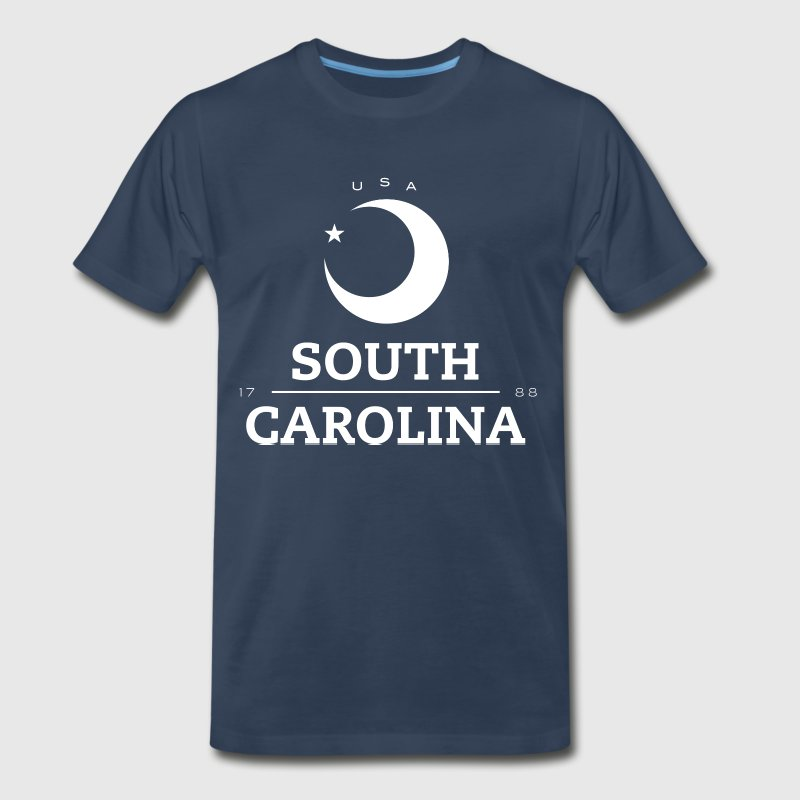 South Carolina Badge - Men's Premium T-Shirt