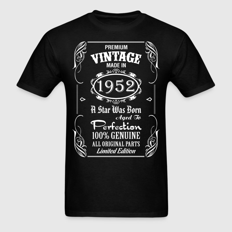 Premium Vintage Made In 1952....... T-Shirts - Men's T-Shirt