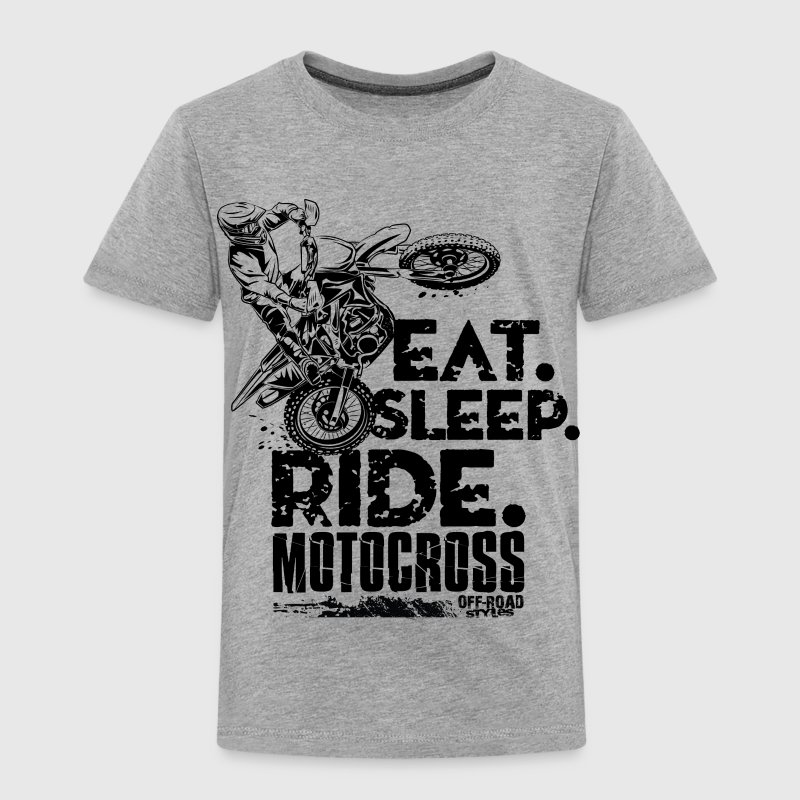 Motocross Eat Sleep Ride Baby & Toddler Shirts - Toddler Premium T-Shirt