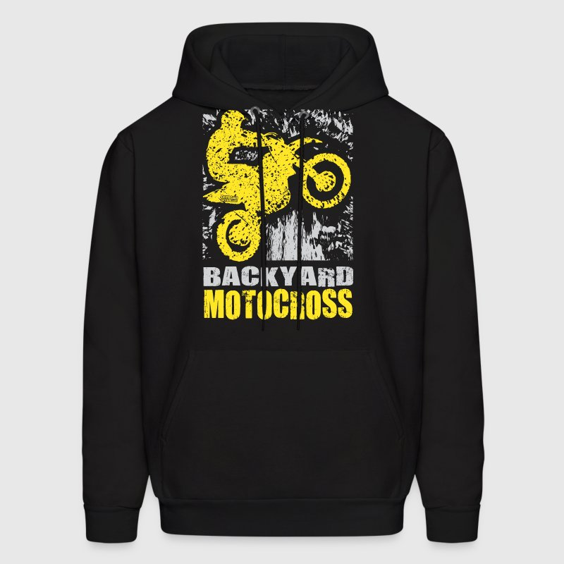 Backyard Motocross Suzuki Hoodies - Men's Hoodie