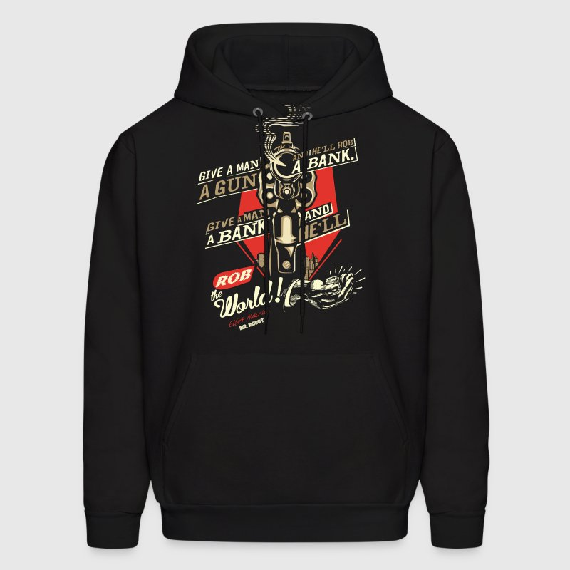 Mr Robot Quotes Give a Man a Gun | Hoodies - Men's Hoodie