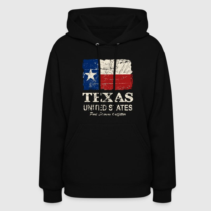 Texas Flag - Vintage Look Hoodies - Women's Hoodie