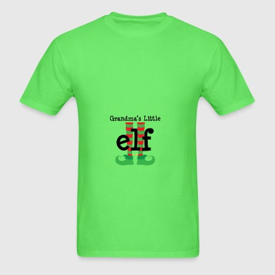Grandma's Little Elf Baby & Toddler Shirts - Men's T-Shirt