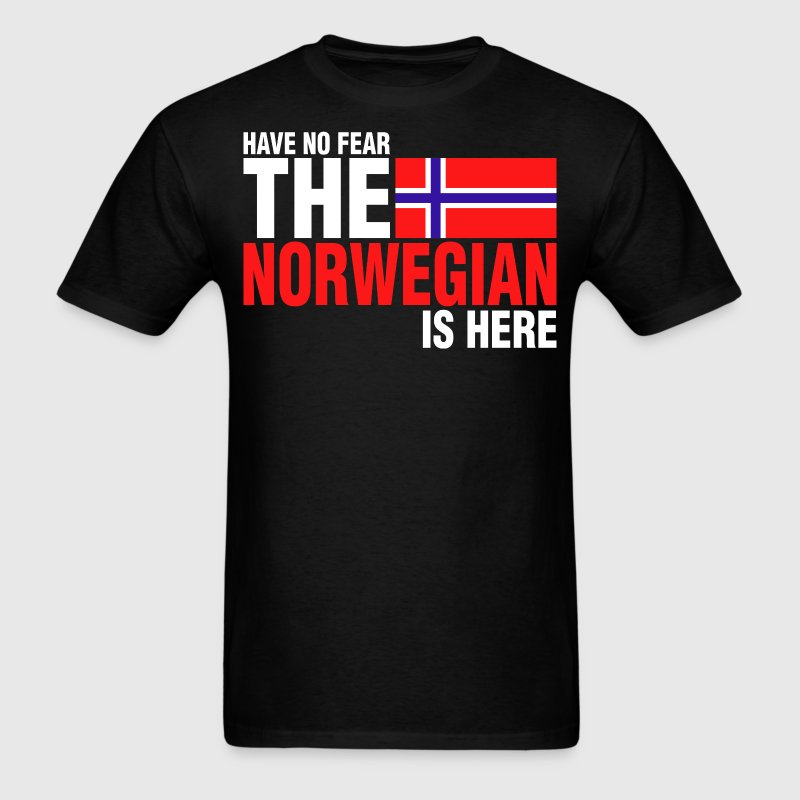Have No Fear The Norwegian Is Here - Men's T-Shirt