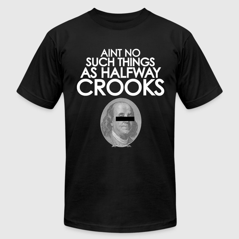 Halfway Crooks - Men's T-Shirt by American Apparel