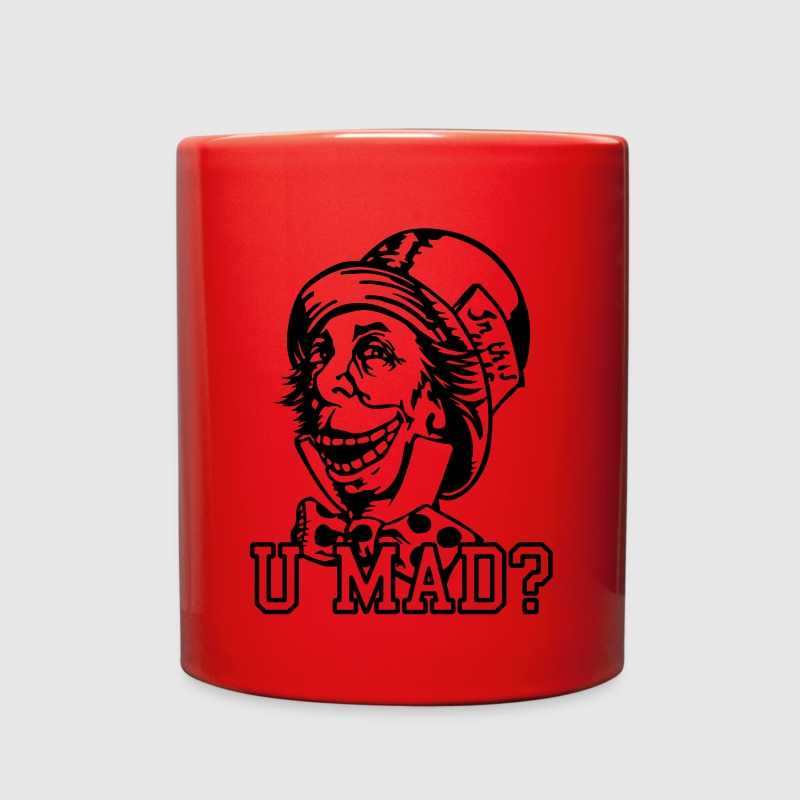 u mad hatter Mugs & Drinkware - Full Color Mug