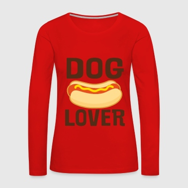 Dog Lover Hot Dog BBQ Baby & Toddler Shirts - Women's Premium Long Sleeve T-Shirt