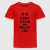 Keep calm and Relay on Kids' Shirts - Kids' Premium T-Shirt