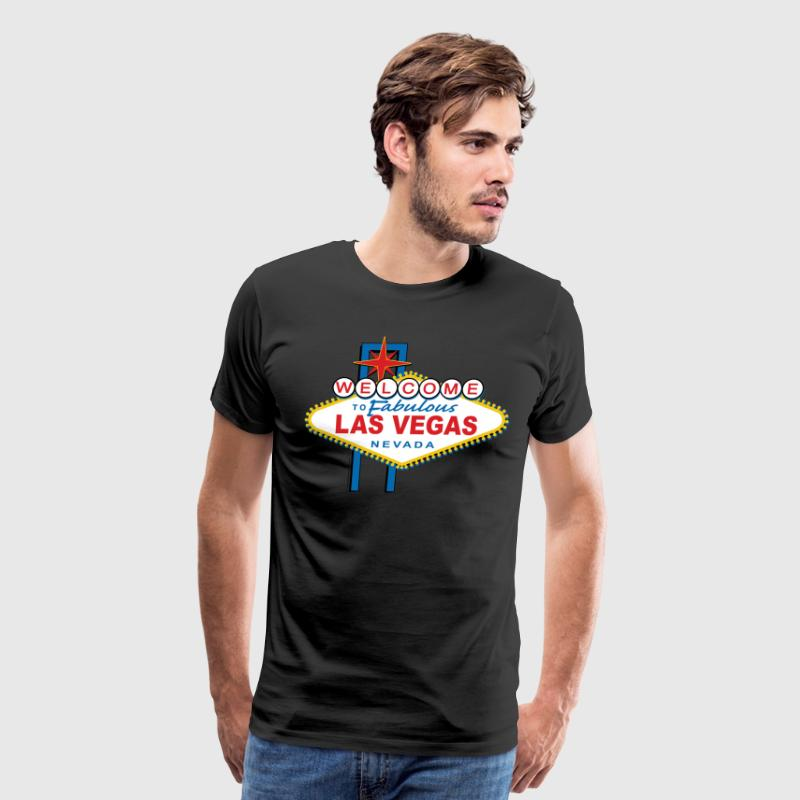 Welcome-to-Las-Vegas-Dist T-Shirts - Men's Premium T-Shirt
