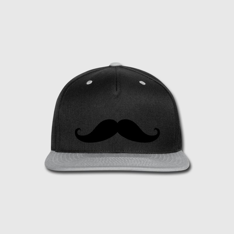 Moustache Beard Mustache Caps - Snap-back Baseball Cap