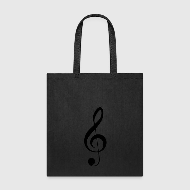 Clef Music Notes Bags & backpacks - Tote Bag
