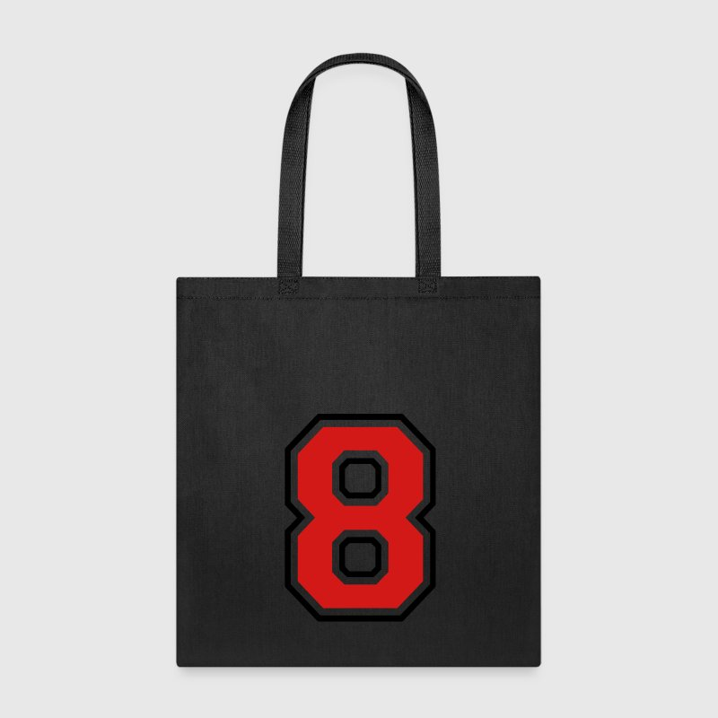 Number eight - 8 Bags & backpacks - Tote Bag