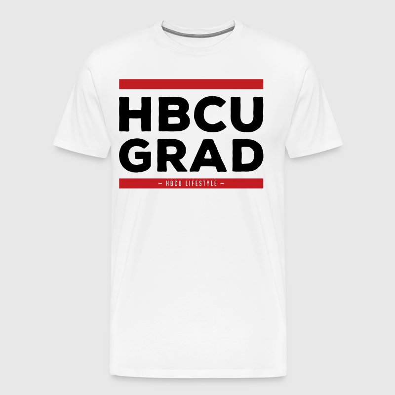 HBCU Grad - Old School Hip Hop T-Shirts - Men's Premium T-Shirt