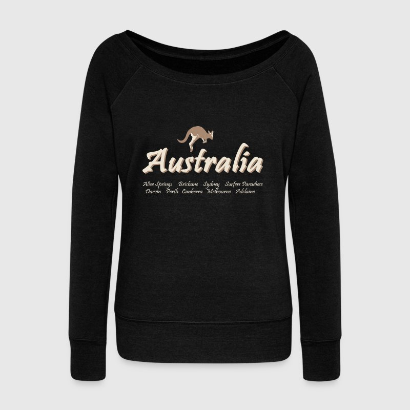 Australia Long Sleeve Shirts - Women's Wideneck Sweatshirt
