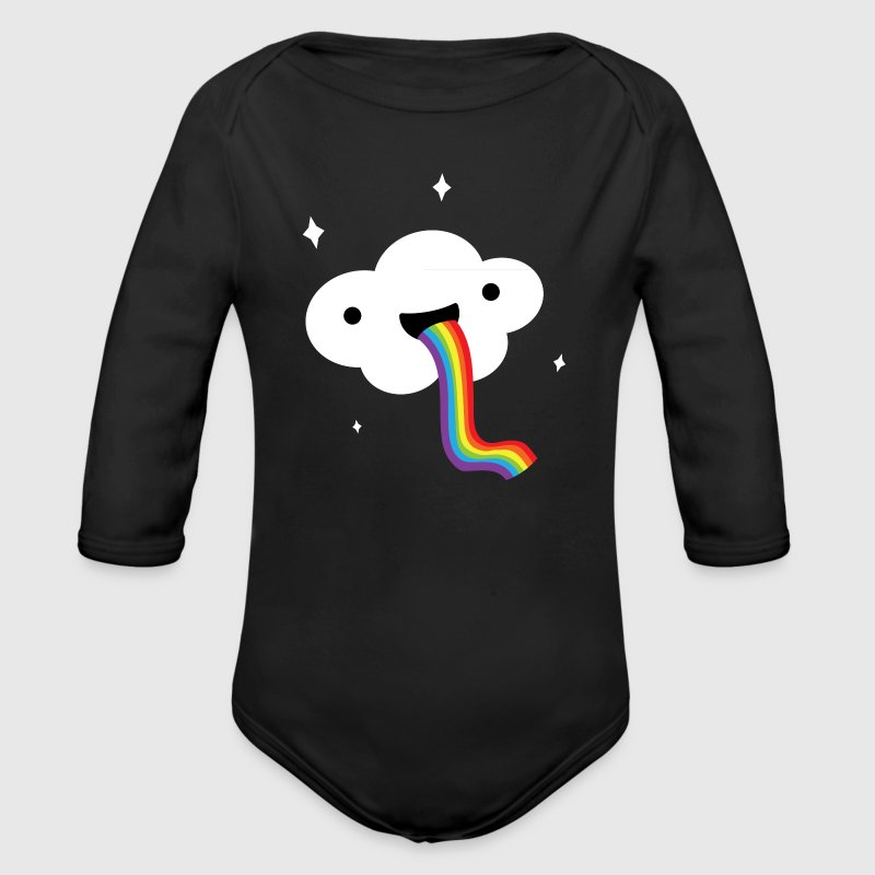 Rainbow Cloud LGBT Pride Baby & Toddler Shirts - Long Sleeve Baby Bodysuit