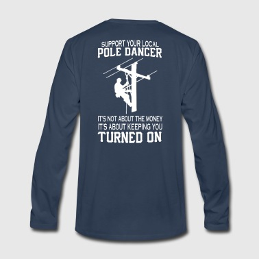 LINEMAN - Men's Premium Long Sleeve T-Shirt