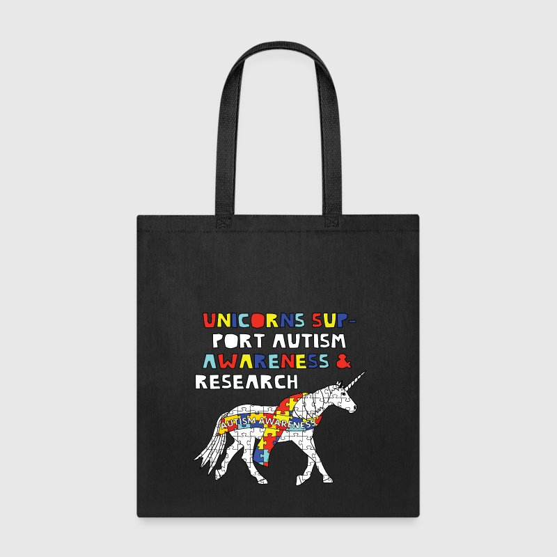 autism awareness unicorn Bags & backpacks - Tote Bag